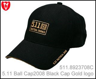 5.11 Cap 2008 version, gold logo