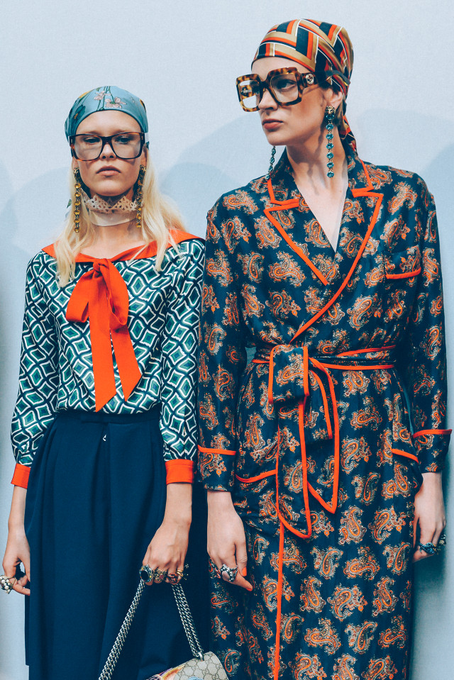 Gucci Spring-Summer 2016 Milan Fashion Week
