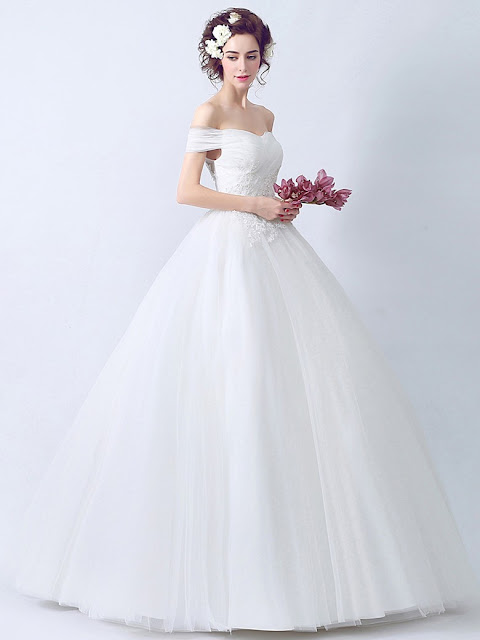 http://www.millybridal.org/ball-gown-off-the-shoulder-tulle-floor-length-appliques-lace-latest-wedding-dresses-milly00022895-12899.html
