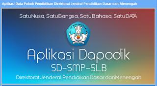 Info Terbaru Dapodik TP 2016-2017