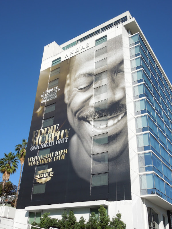 Giant Eddie Murphy One Night Only Spike billboard