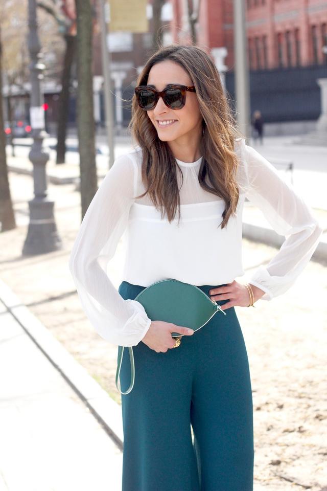 blusa blanca transparencias