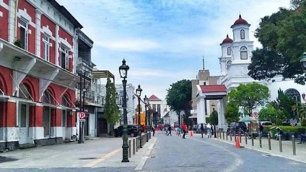 Wisata ke Kota Lama Semarang Lebih Dari Destinasi 'Selfie'