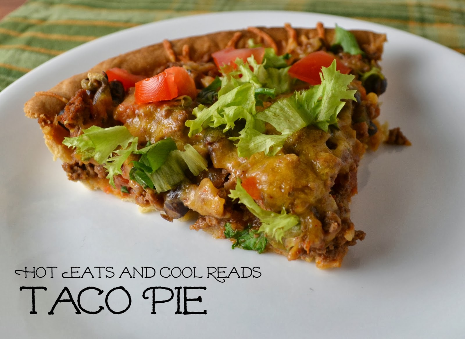 Hot eats and cool reads ground beef taco pie recipe ground beef taco pie recipe forumfinder Gallery