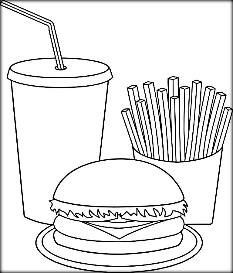 e123 food coloring pages - photo #49