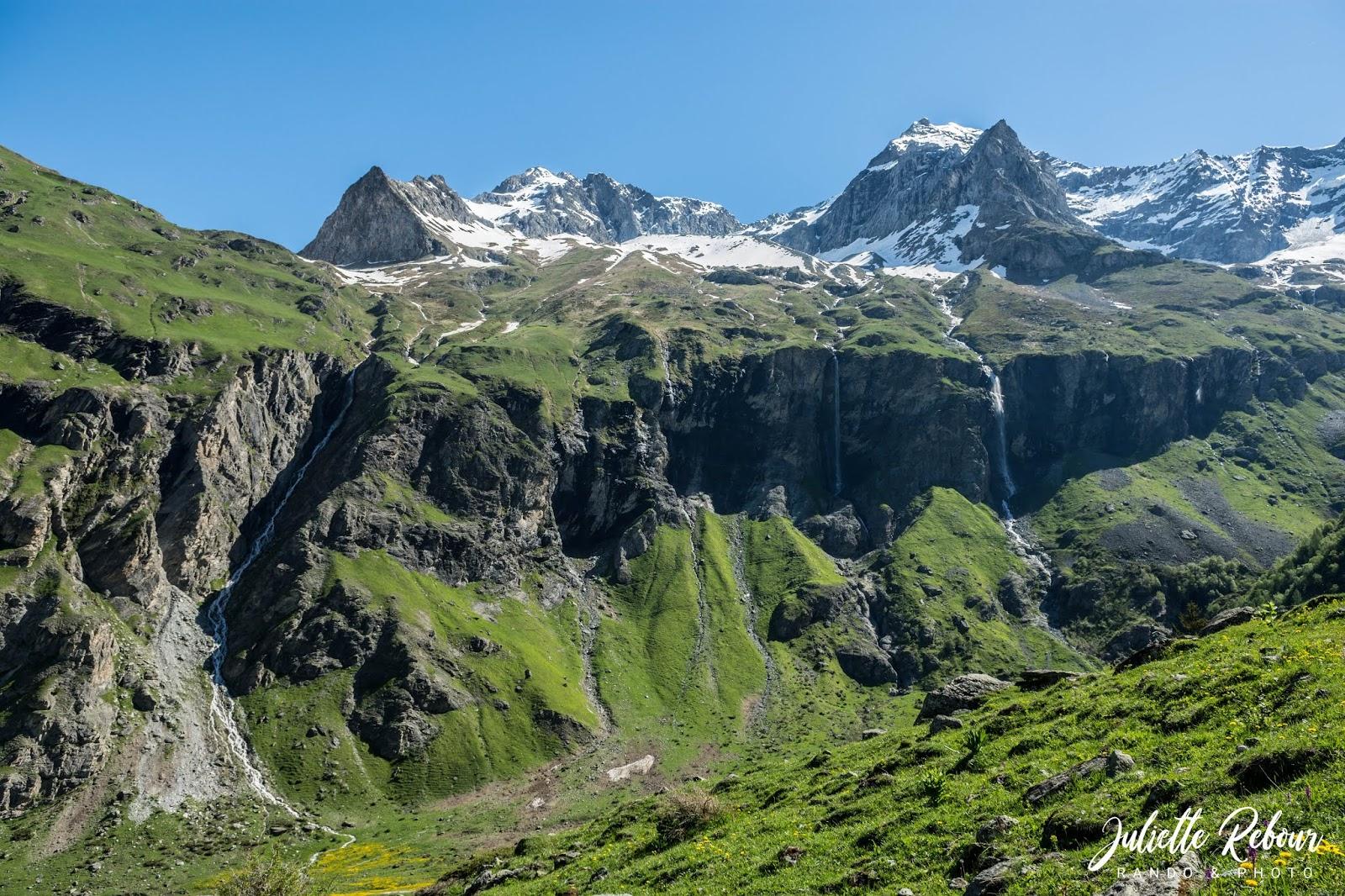 Cascades de Nant Putor, Savoie