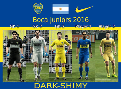 Boca Juniors 2016 update 3