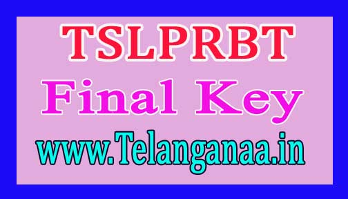 TSLPRBT-2016 SCT SI (Civil/AR/SAR/TSSP/SPF/SFO) Final Key