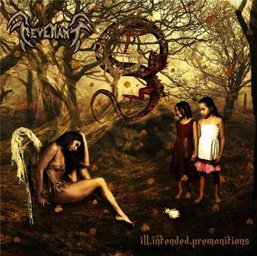Metal album cover fallen angel