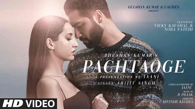 Pachtaoge Lyrics - Jaani Ve | Arijit Singh