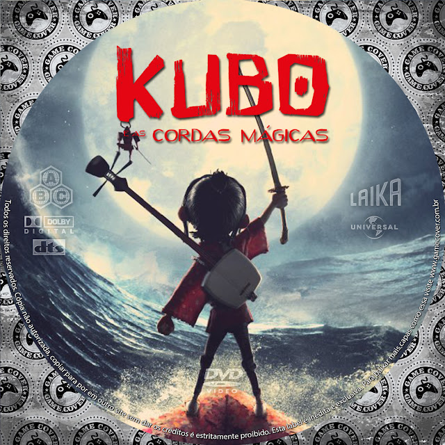 Label DVD Kubo E As Cordas Mágicas [Exclusiva]