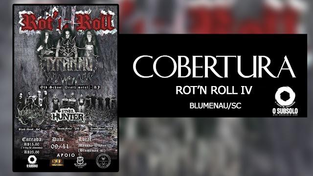 O Subsolo - Cobertura Rot'n Roll IV Edição