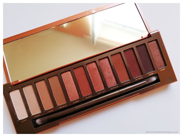 Palette Naked Heat Urban Decay Colori
