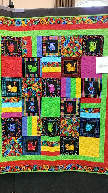 Quilt Knit Stitch 2017 : Quilt, Knit, Run, Sew: Lake Ashton Community Quilt show 2017