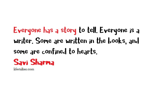 Book Review: Everyone Has A Story By Savi Sharma : Life Stalker