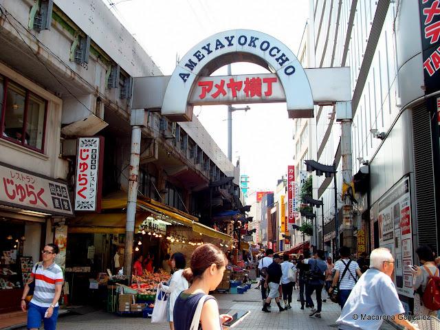 MERCADO DE AMEYAYOKOCHO. TOKIO.