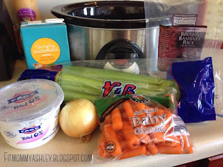 chicken, rice, crockpot, clean eating, healthy, sick day soup, organic, easy,dinner, kid friendly, carrots, celery, rice, creamy,