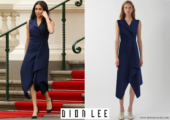 Australian fashion designer, Dion Lee Folded Sail dress