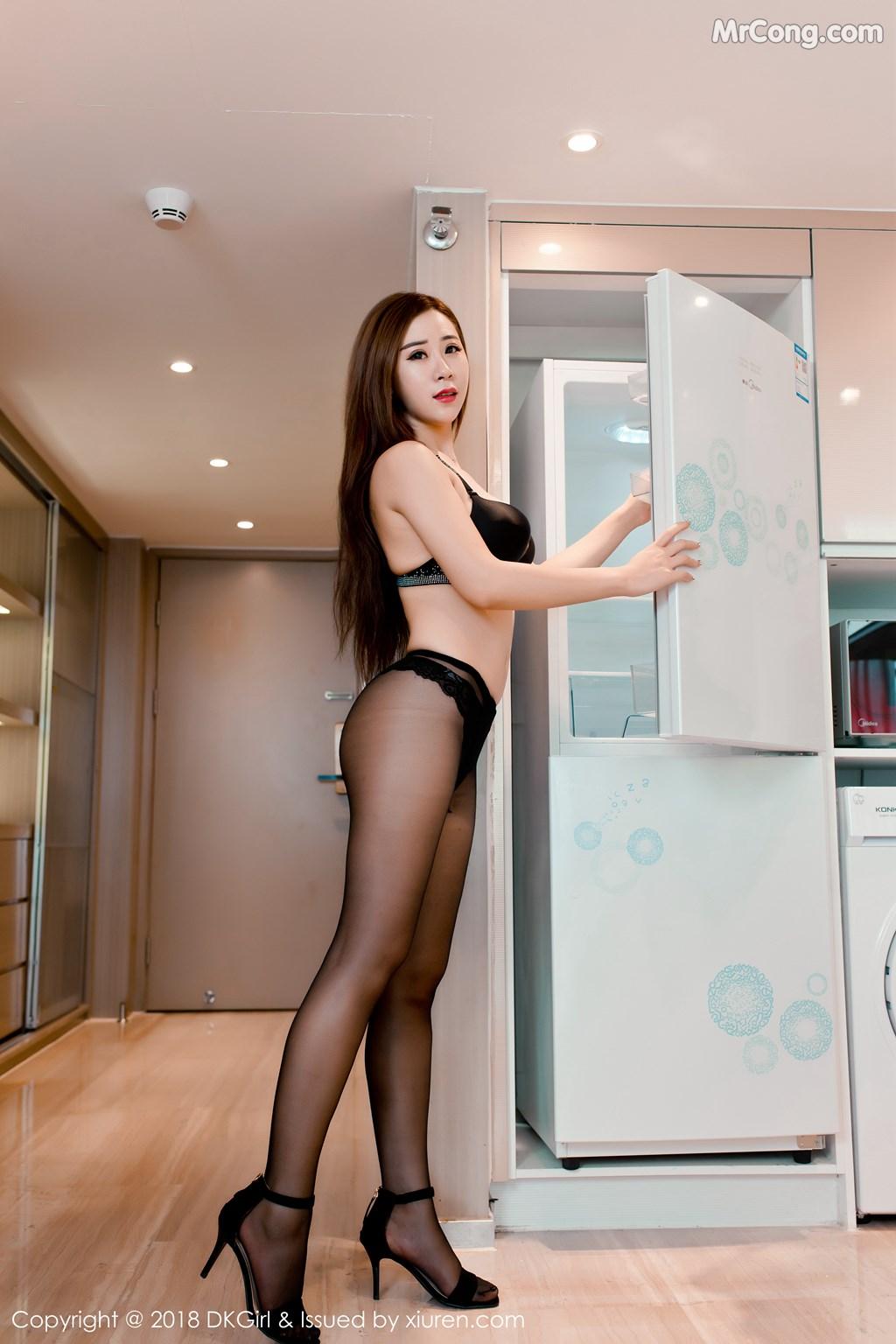 Image DKGirl-Vol.086-Cier-MrCong.com-002 in post DKGirl Vol.086: Người mẫu 雪儿Cier (47 ảnh)