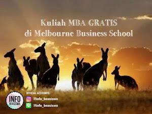 Beasiswa Full-Time MBA di Melbourne Business School, Australia