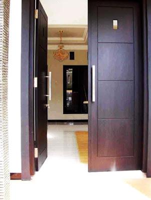 model pintu rumah minimalis 2 pintu terbaru - ide hunian