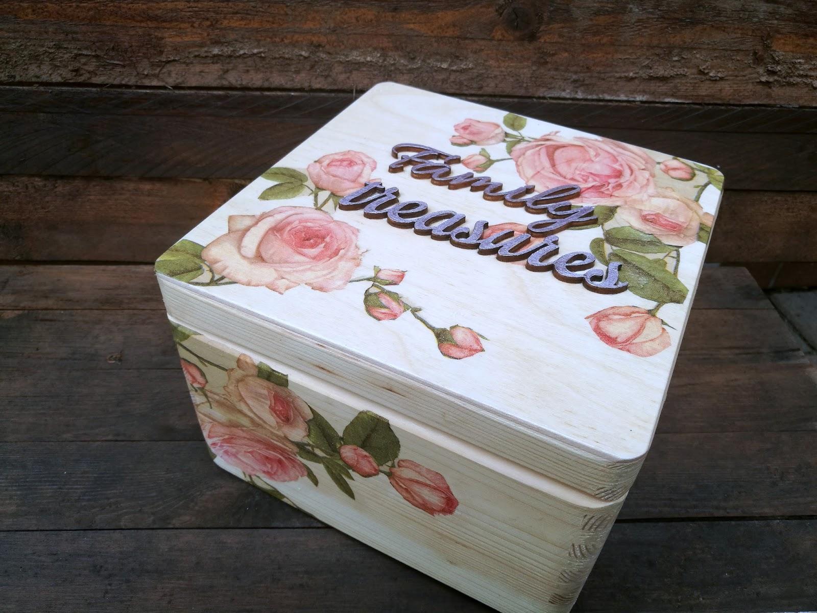 Pudełko na pamiątki DIY