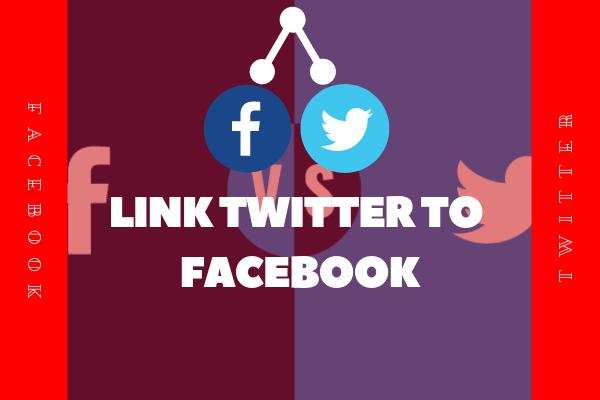 Link Twitter To Facebook<br/>