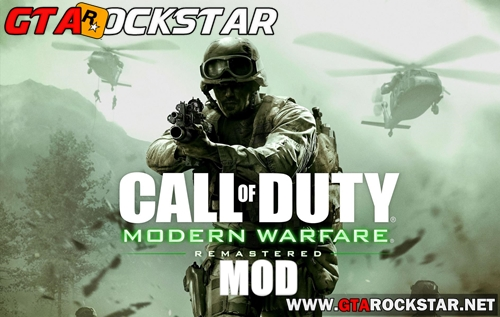 Mod Missão do Call of Duty Modern Warfare para GTA San Andreas
