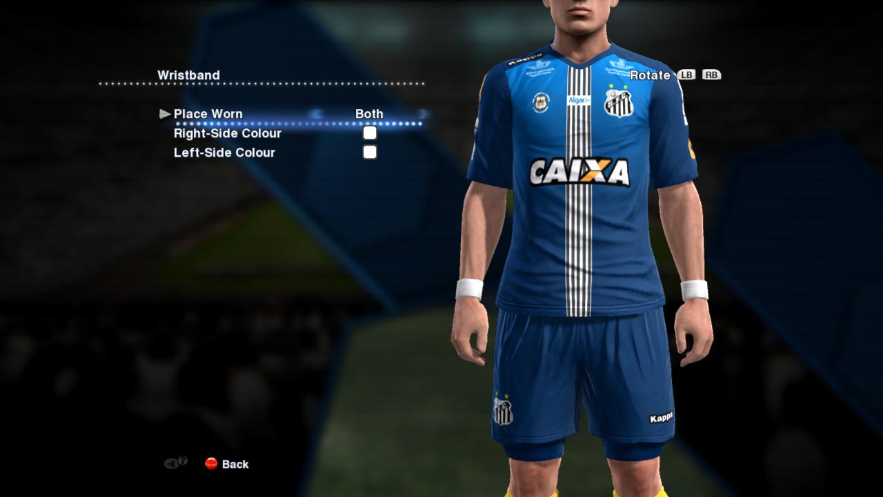 Terceiro Uniforme Santos 2016-2017  PES 2013  - RE-PA Kits 1627df0ce55fe