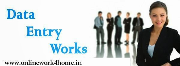 Data Entry Work For Home