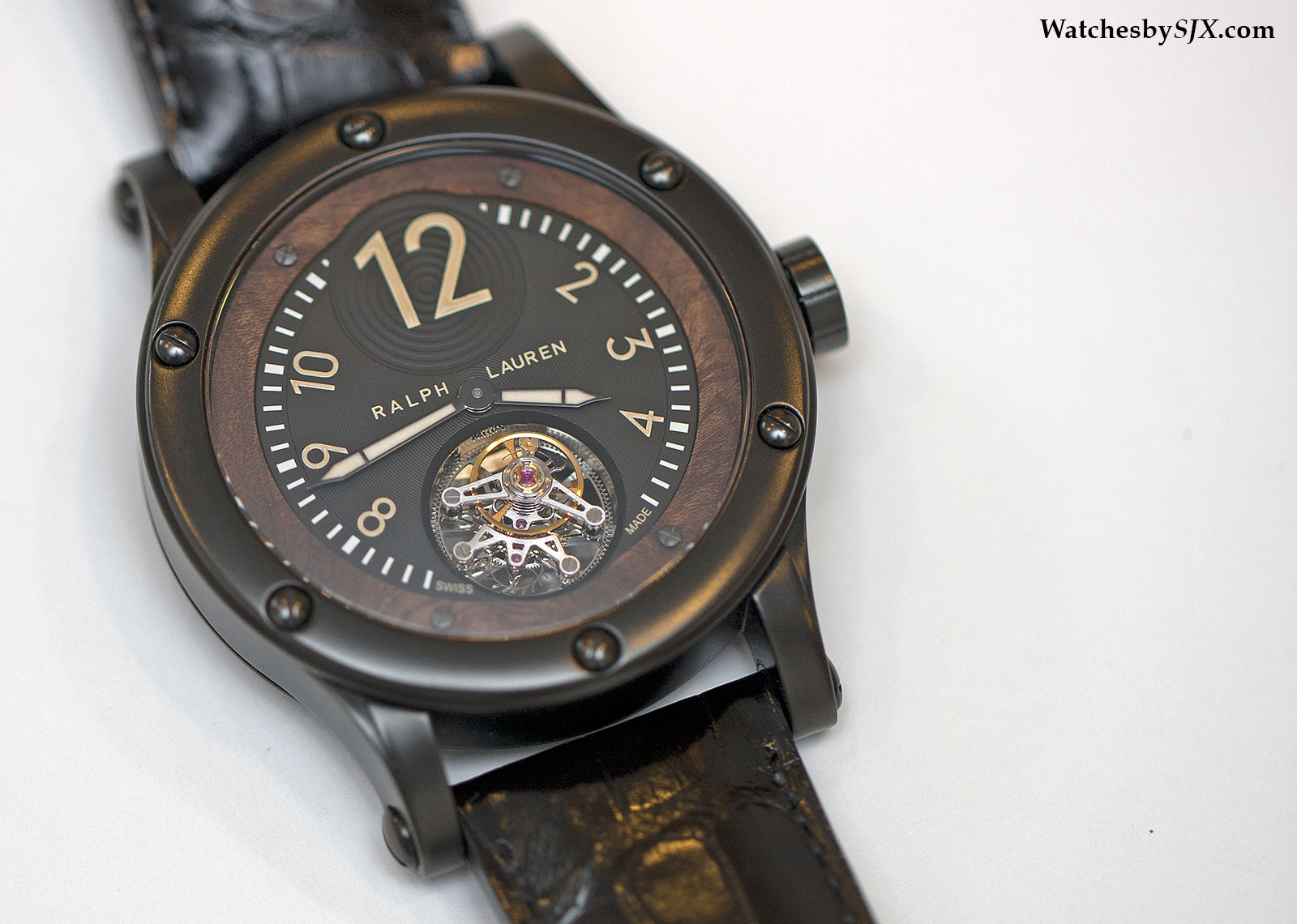 Hands-On With The Ralph Lauren Black Safari Flying Tourbillon (With Live  Photos And Price) f4cc4420e1c60