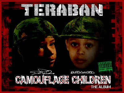 Teraban (Dom Pachino & Bugsy Da God) - Camouflage Children - Album Download, Itunes Cover, Official Cover, Album CD Cover Art, Tracklist