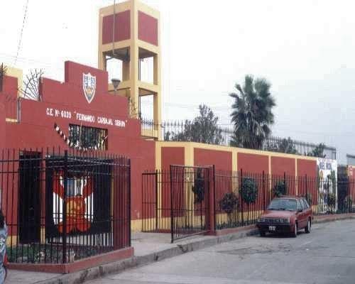 Escuela 6039 FERNANDO CARBAJAL SEGURA - Vitarte