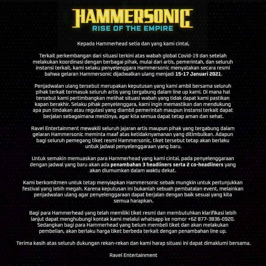 Hammersonic press