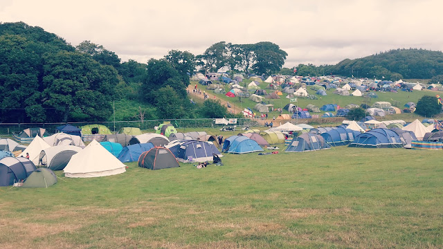 Camp Bestival Campsite // 76sunflowers
