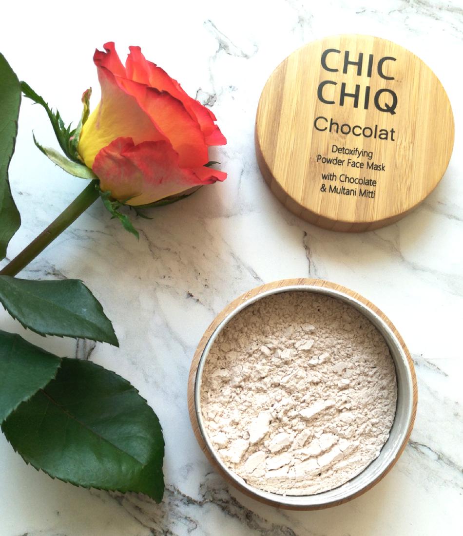Chic Chiq maseczka Chocolat opinie recenzja blog