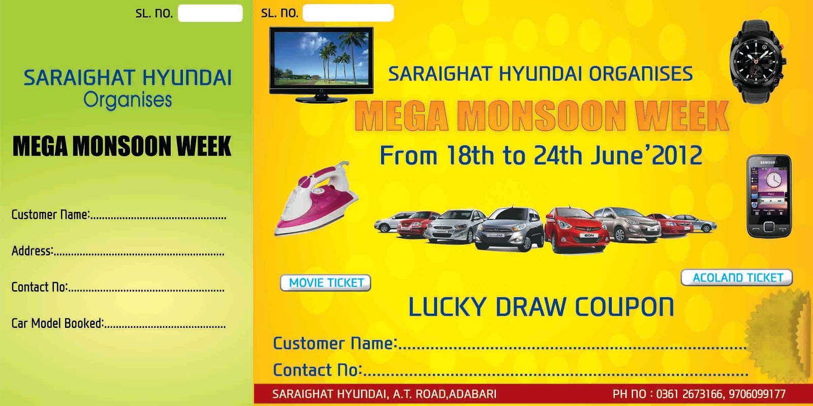 lucky draw coupons