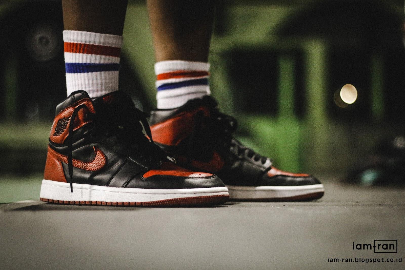 0e6ae1cc09e IAM-RAN: ON FEET : Abel - Nike Air jordan 1