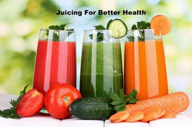 Juicing For Better Health, juicing, healthy eating