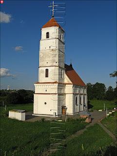 Кальвинистский храм в Заславле. Спасо-Преображенская церковь