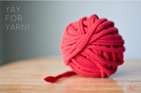 ... Crafty Gal: How to Make Yarn Out of Plactic Bags, T-shirts, and Sheets
