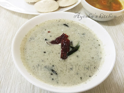 coconut chutney recipe ayeshas kitchen recipes veg side dishes idli chutney powder chammanti podi condiment