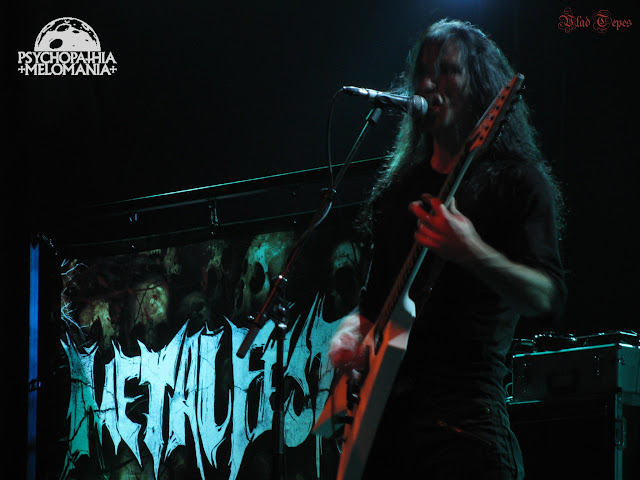 James Malone (Arsis) @Metalfest 2008, Elysée Montmartre, Paris