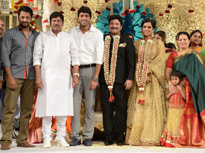 Allari Naresh in Rajendra Prasad Son Reception