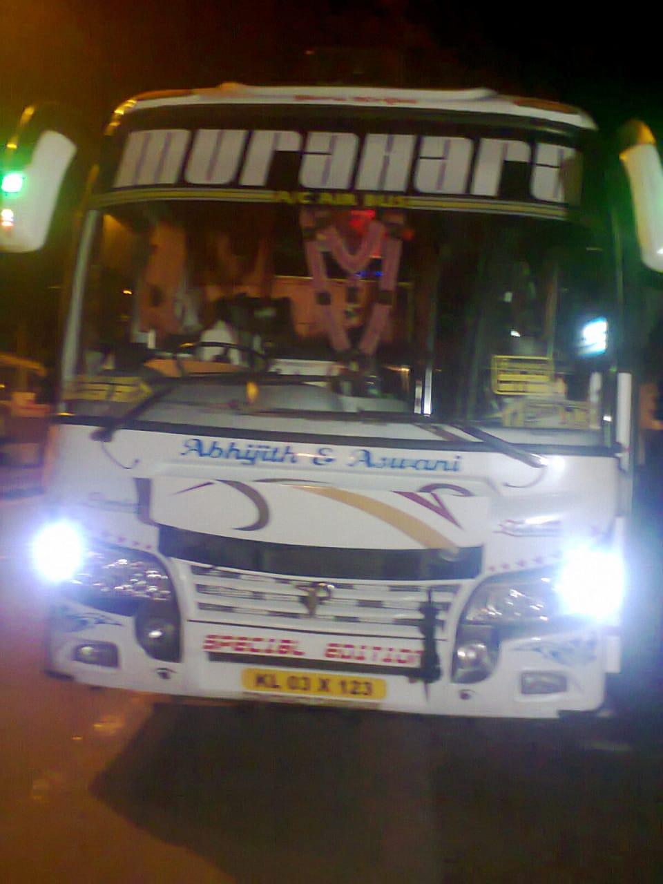 Murahara kerala tourist bus