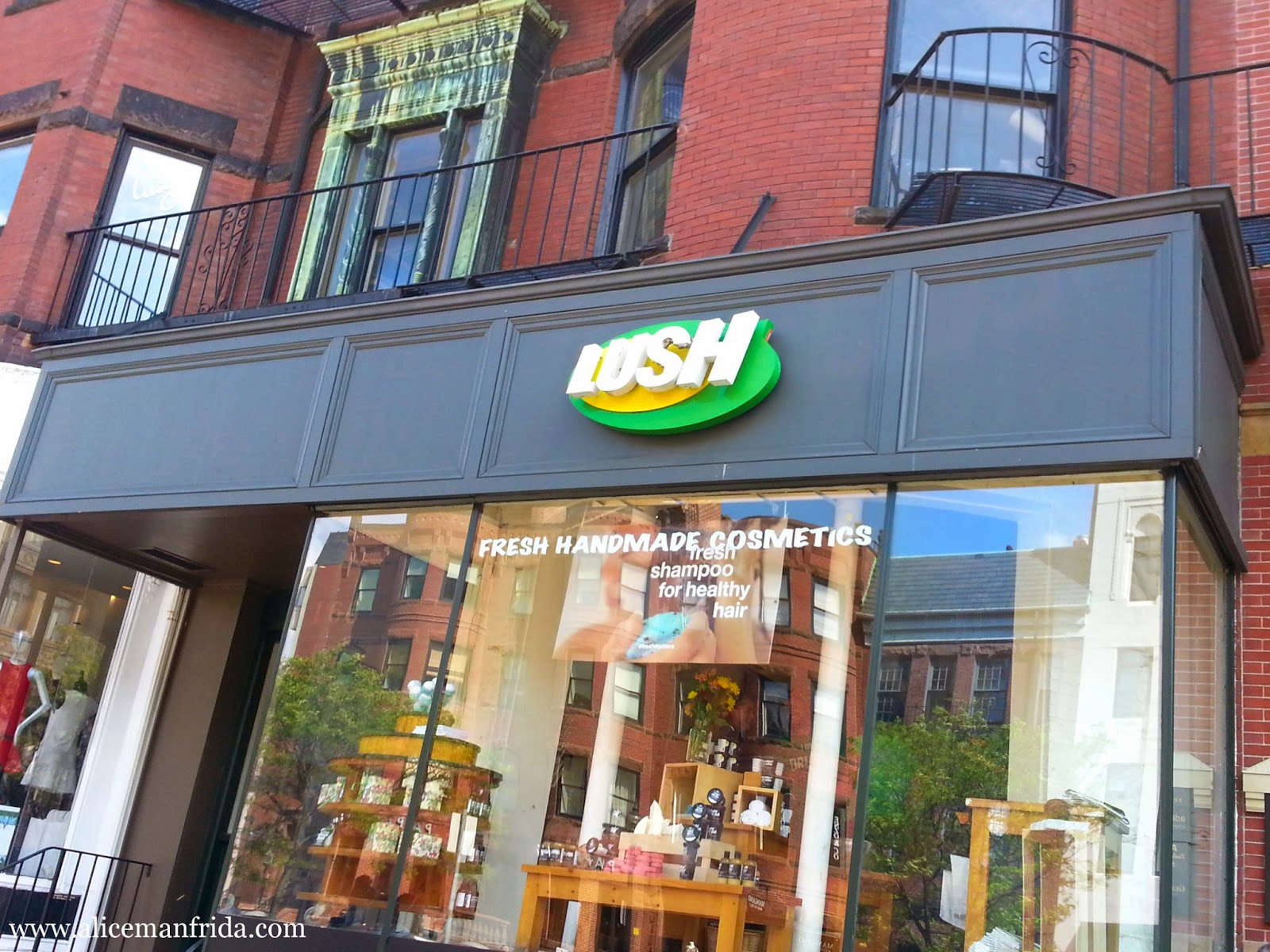 Newbury Street, Lush, Boston, Beauty, Shopping