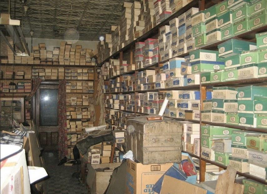 Abondonded Shoe Factory Uk