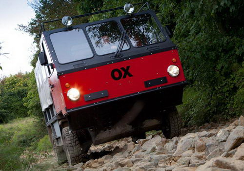 Tinuku.com Anti-aesthetic design, OX truck packed and assembled in less than 12 hours