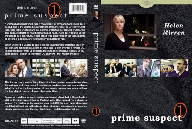 Prime Suspect Season 1 DVD Cover