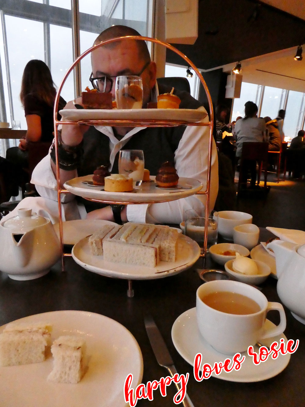 afternoon tea at the shard